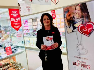 Celebrate Valentine's with H. Samuels and the Galleries Shopping Centre Washington