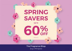 Spring Offers at The Fragrance Shop Galleries Washington
