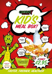 Chopstix launch new kids meal box deal at the Galleries Washington
