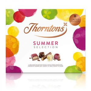 Summer Collection selection box at Thorntons Galleries Shopping Centre Offer