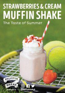 Muffin Break Strawberries and Cream Wimbledon Galleries Shopping Washington
